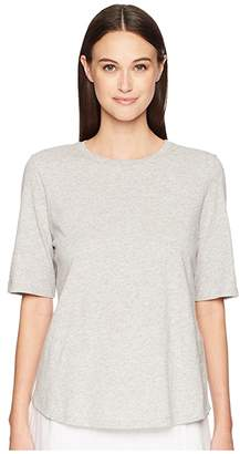 Eileen Fisher Roundneck Elbow Top