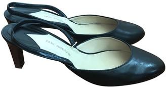 Paul Andrew Black Leather Sandals
