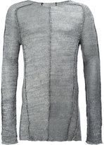 Masnada slim-fit jumper - men - Linen/Flax/Viscose - S