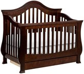 Million Dollar Baby Classic Ashbury 4-in-1 Convertible Crib with Toddler Bed Conversion Kit- Espresso