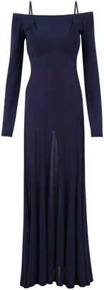 Jacquemus Off Shoulder Maxi Dress