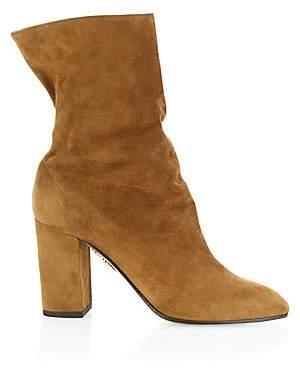 Aquazzura Women's Boogie Suede Ankle Boots