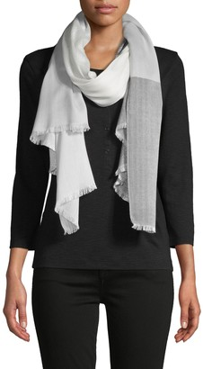 Calvin Klein Coloblock Plaid Scarf