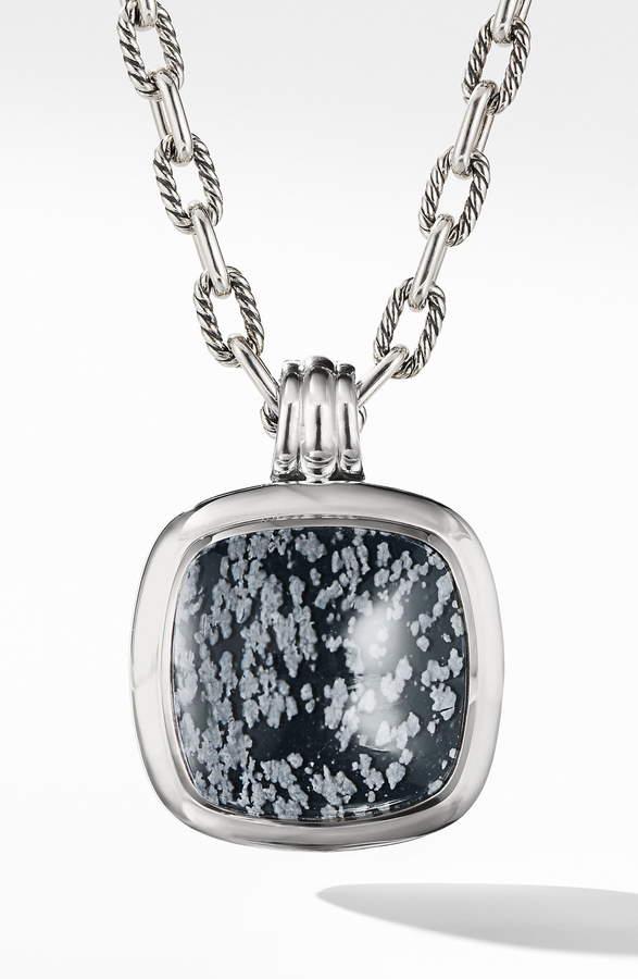 David Yurman Albion Reconstituted Turquoise Amulet Enhancer