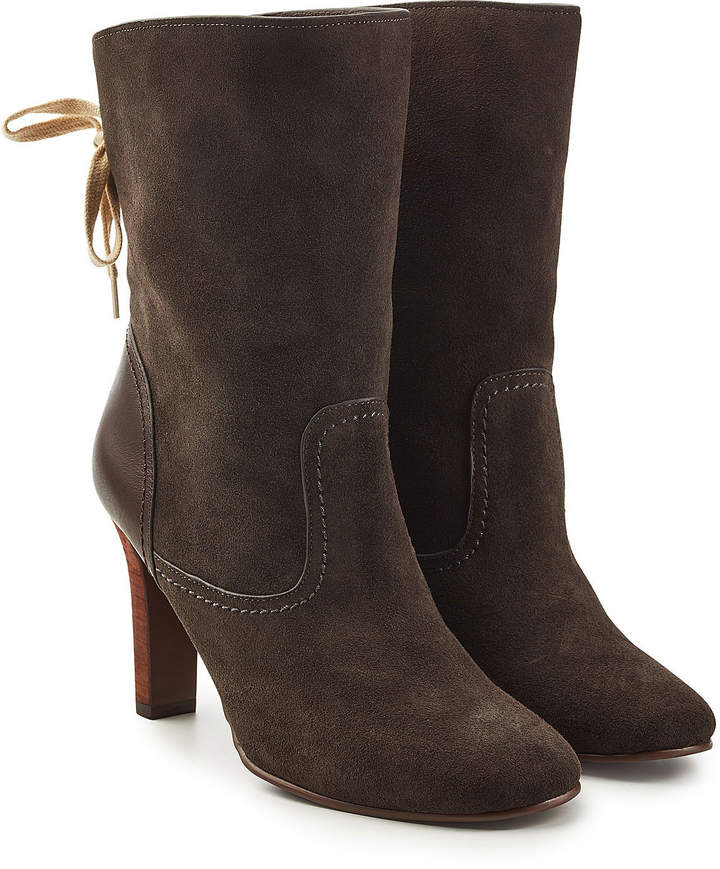 See by Chloe Yvonne Suede Ankle Boots
