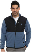 U.S. Polo Assn. Full Zip Polar Fleece Jacket