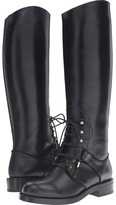 Alexander McQueen Stivale Pell S.Cuoio Women's Lace-up Boots