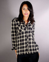 Monarchy Floral Long Sleeve Shirt in Plaid