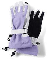 Lands' End Girls Waterproof Squall Gloves-Regiment Navy Solid