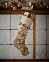Kim Seybert Trevi Christmas Stocking
