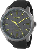Pulsar 3-Hand Analog with Date Men's watch #PS9101