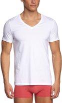 Hanro Men's Cotton Superior V-Neck Shirt