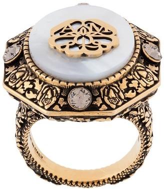 Alexander McQueen Charm Seal Ring
