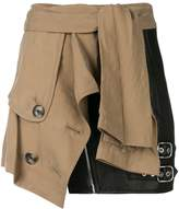 Alexander Wang Deconstructed Trench skirt