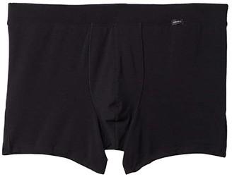 Hanro Natural Function Long Leg Boxer Brief (White) Men's Underwear