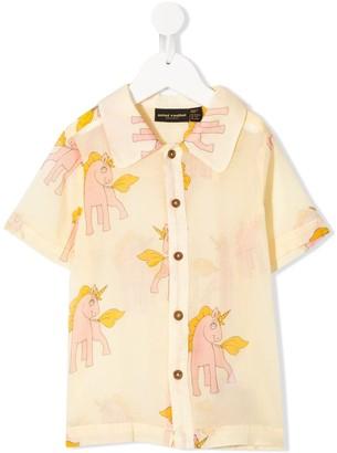 Mini Rodini Unicorn Print Shirt