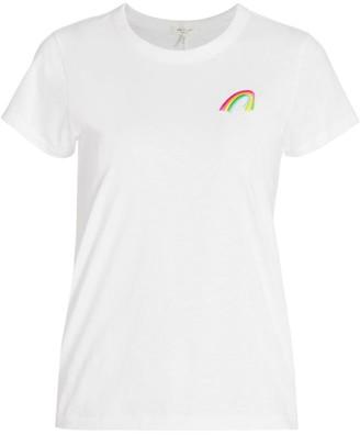 Rag & Bone Rainbow Pima Cotton T-Shirt