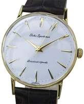 Seiko Sportsman Gold Plated and Stainless Steel Vintage 32m Mens Watch