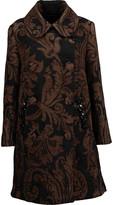 Simone Rocha Embellished chenille-jacquard coat