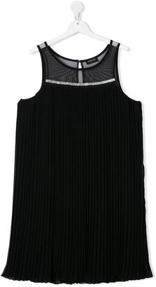 MonnaLisa Teen pleated blouse