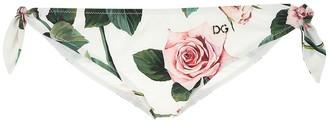 Dolce & Gabbana Floral Print Bikini Bottom