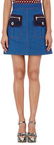 Marc Jacobs Women's Oversized-Pocket Miniskirt-BLUE