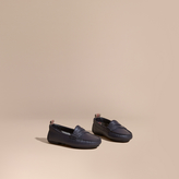 Burberry Leather Loafers
