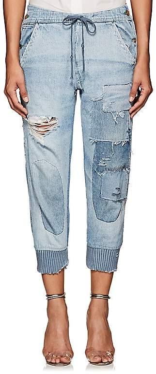 Greg Lauren Women's Patchwork Denim Lounge Pants