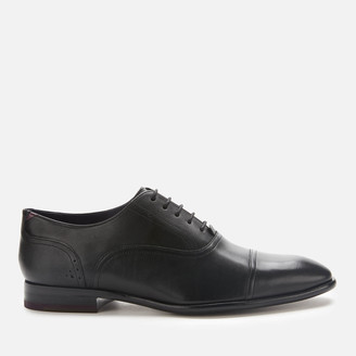Ted Baker Men's Circass Leather Toe Cap Oxford Shoes - Black