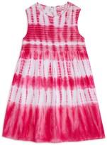 Design History Girls' Sleeveless Tie-Dye Dress
