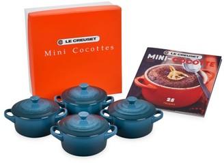 Le Creuset 4-Piece Mini Cocotte Set