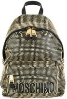 Moschino embellished backpack - women - Leather/Metal (Other) - One Size