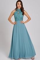Little Mistress Ffion Fern Lace Maxi Dress