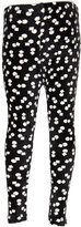 Leggings4U L4U Girls Aztec Black Creame Printed Fashion Leggings