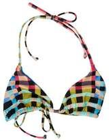 Mara Hoffman Plaid Bikini Top w/ Tags