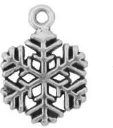 Mini Snowflake Charm
