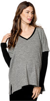 DREW Maternity Drop-Shoulder Textured Sweater