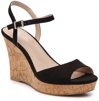 Charles by Charles David Lambert Cork Wedge Sandal