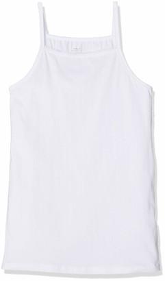 Name It Girl's Nkfstrap Top 2p Solid Noos Vest