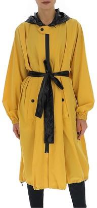 Givenchy Logo Belted Raincoat
