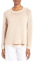 Eileen Fisher Women's Slubbed Organic Linen & Cotton Sweater