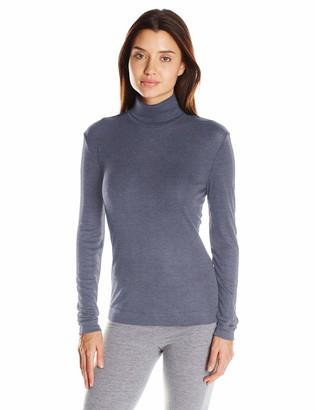 Hanro Women's Silk Cashmere Turtleneck Shirt