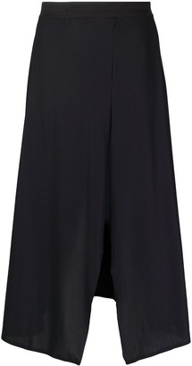 Filippa K Soft Sport Dance front slit skirt