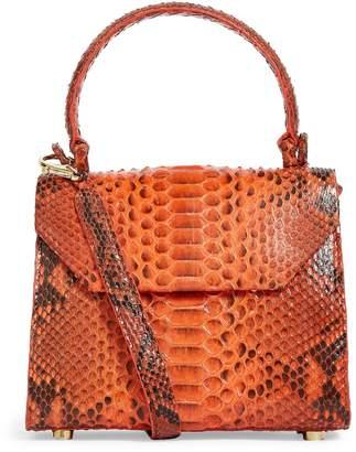 Nancy Gonzalez Python Lily Top-Handle Bag