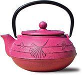 Old Dutch Cast-Iron Gingko Teapot