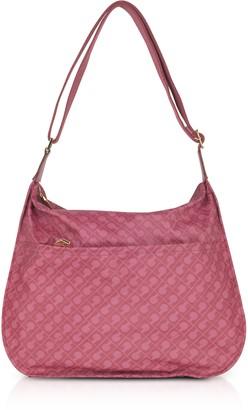 Gherardini Wild Rose Signature Fabric Softy Shoulder Bag