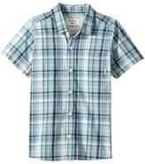 Quiksilver Everyday Check Short Button Up Sleeve Shirt (Toddler/Little Kids)