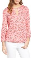 MICHAEL Michael Kors Women's Lydia Floral Peasant Top