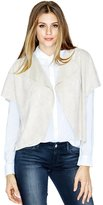 GUESS Hilda Faux-Suede Zip Cover-Up