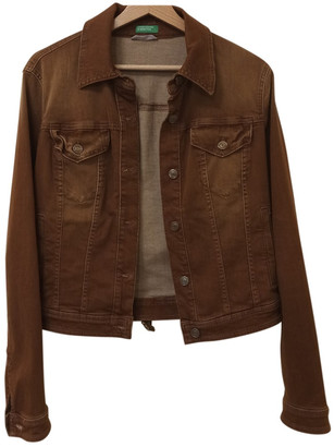 Benetton Brown Denim - Jeans Jackets